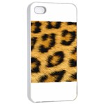 Leopard Print	Apple iPhone 4/4s Seamless Case (White)
