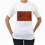 Crocodile Print	 Women s T-Shirt
