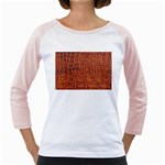 Crocodile Print	 Girly Raglan