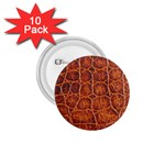 Crocodile Print	 1.75  Button (10 pack)