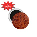 Crocodile Print	 1.75  Magnet (10 pack)