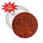 Crocodile Print	 2.25  Button (10 pack)