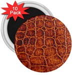Crocodile Print	 3  Magnet (10 pack)