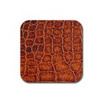 Crocodile Print	 Rubber Coaster (Square)