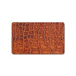 Crocodile Print	 Magnet (Name Card)