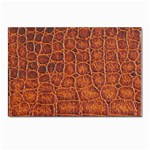 Crocodile Print	 Postcards 5  x 7  (Pkg of 10)