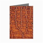 Crocodile Print	 Mini Greeting Cards (Pkg of 8)