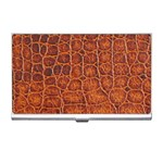 Crocodile Print	 Business Card Holder