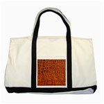 Crocodile Print	 Two Tone Tote Bag