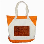 Crocodile Print	 Accent Tote Bag