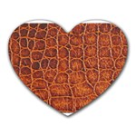 Crocodile Print	 Mousepad (Heart)