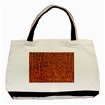 Crocodile Print	 Classic Tote Bag (Two Sides)