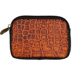 Crocodile Print	 Digital Camera Leather Case