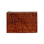 Crocodile Print	 Cosmetic Bag (Medium)