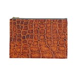 Crocodile Print	 Cosmetic Bag (Large)