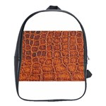 Crocodile Print	 School Bag (Large)