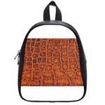 Crocodile Print	 School Bag (Small)