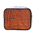 Crocodile Print	 Mini Toiletries Bag (One Side)