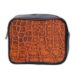 Crocodile Print	 Mini Toiletries Bag (Two Sides)