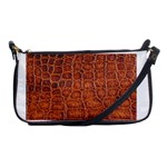 Crocodile Print	 Shoulder Clutch Bag