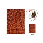 Crocodile Print	 Playing Cards (Mini)