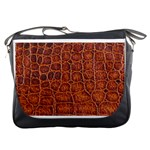 Crocodile Print	Messenger Bag