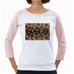 Snake Print	 Girly Raglan