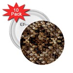 Snake Print	 2.25  Button (10 pack)