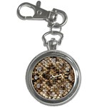 Snake Print	 Key Chain Watch