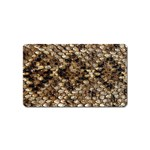 Snake Print	 Magnet (Name Card)