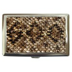 Snake Print	 Cigarette Money Case