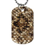 Snake Print	 Dog Tag (Two Sides)