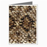 Snake Print	 Greeting Cards (Pkg of 8)