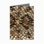 Snake Print	 Mini Greeting Card