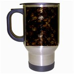 Snake Print	 Travel Mug (Silver Gray)