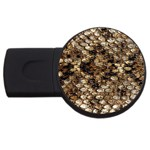 Snake Print	 USB Flash Drive Round (4 GB)