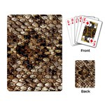 Snake Print	 Playing Cards Single Design