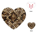 Snake Print	Playing Cards (Heart)