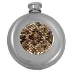 Snake Print	 Hip Flask (5 oz)