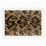 Snake Print	 Glasses Cloth (Large
