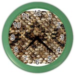 Snake Print	 Color Wall Clock