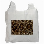 Snake Print	 Recycle Bag (One Side)