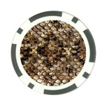 Snake Print	 Poker Chip Card Guard (10 pack)
