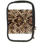 Snake Print	 Compact Camera Leather Case