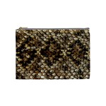 Snake Print	 Cosmetic Bag (Medium)