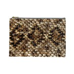 Snake Print	 Cosmetic Bag (Large)