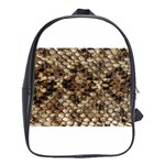 Snake Print	 School Bag (Large)