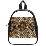 Snake Print	 School Bag (Small)