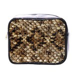 Snake Print	 Mini Toiletries Bag (One Side)