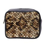 Snake Print	 Mini Toiletries Bag (Two Sides)